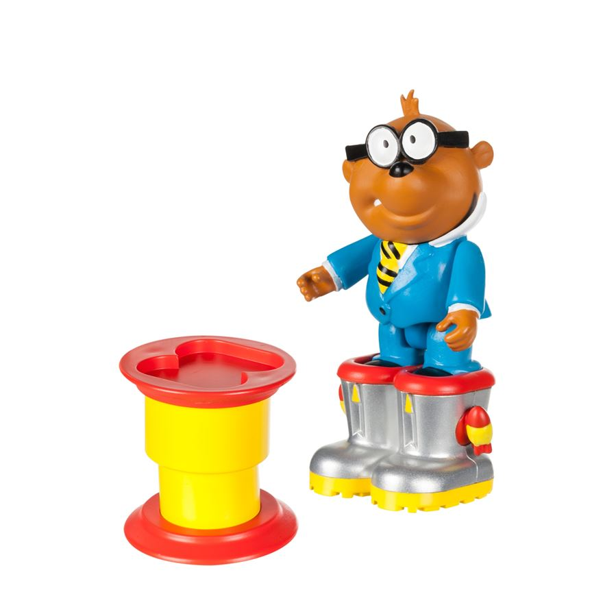 Danger Mouse Penfold Figure and Launcher image-0