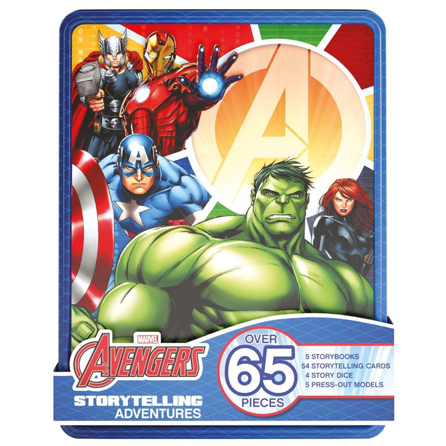 Marvel Avengers Adventures Premium Tin image-0