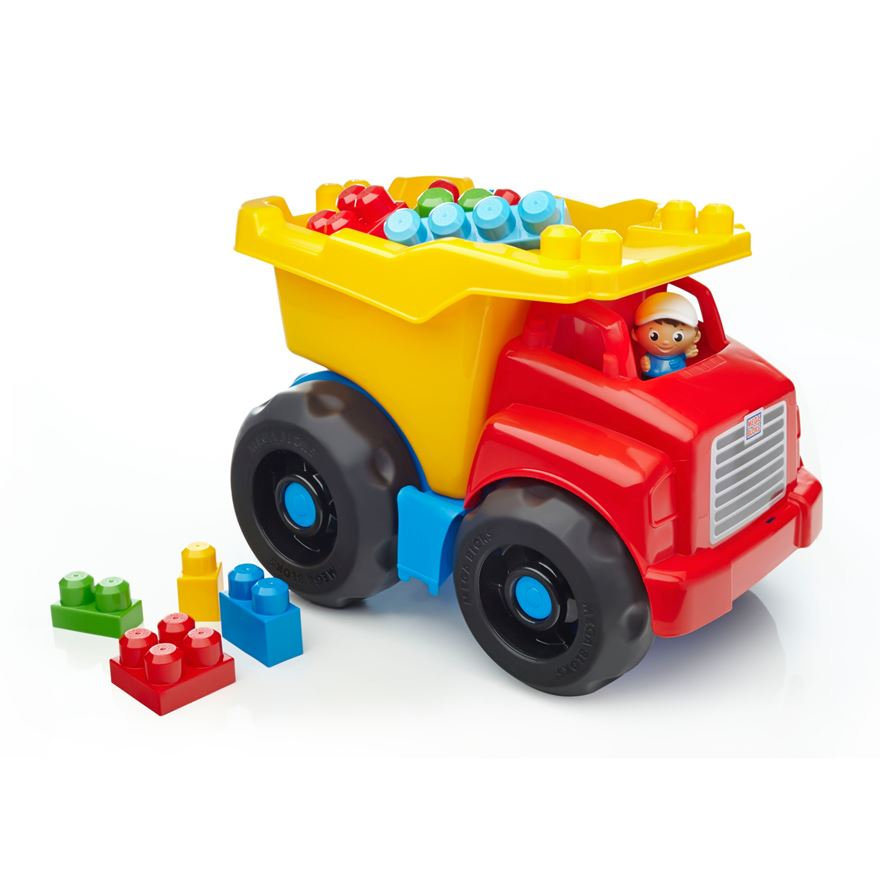 Mega Bloks First Builders Large Dump Truck image-0