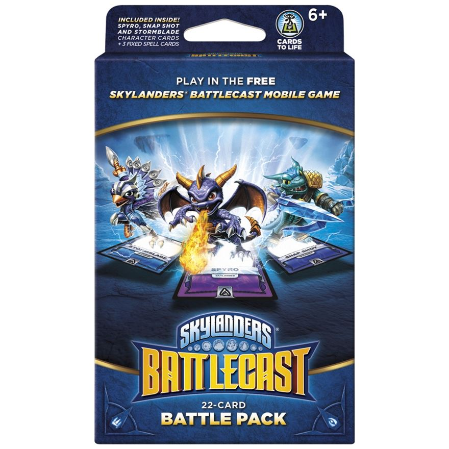 Skylanders Battlecast Battle Pack A - 22 cards image-0