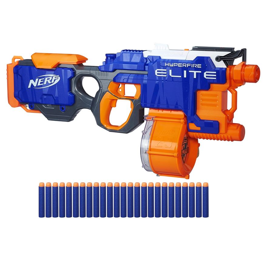 Nerf N-Strike Elite Hyperfire Value Pack image-0