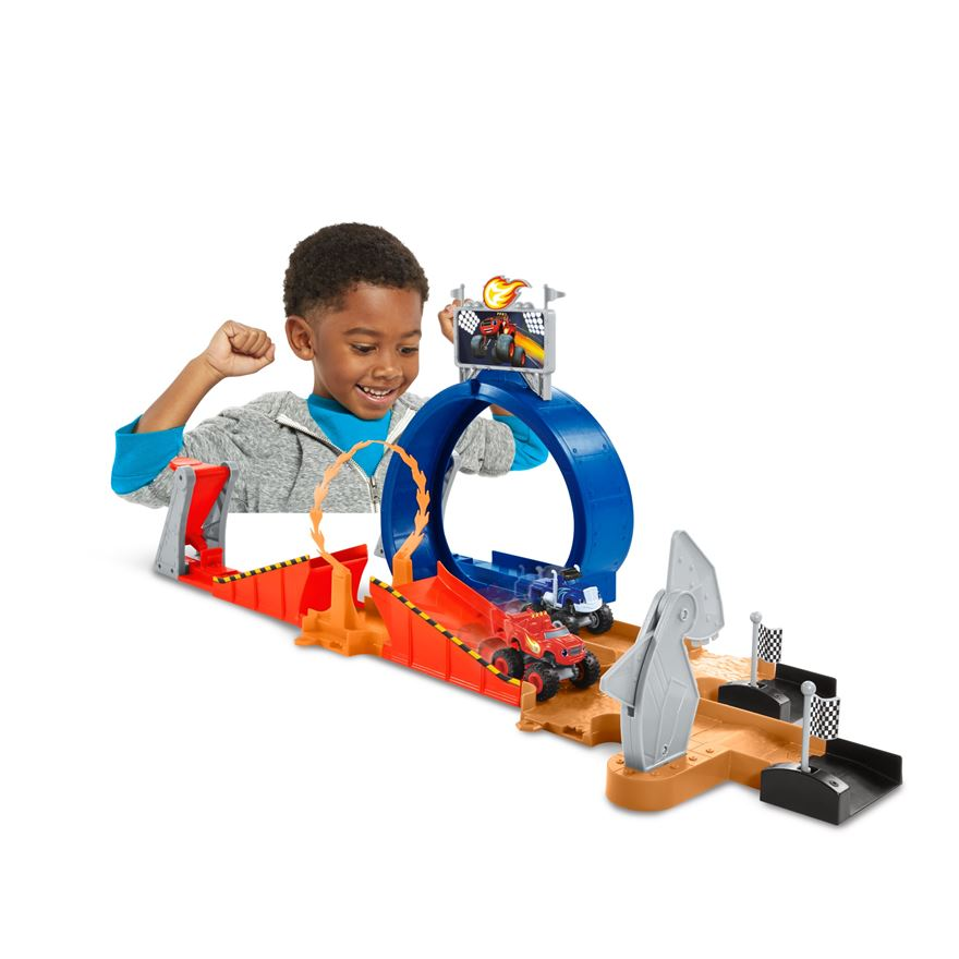 Blaze and the Monster Machines Monster Dome Playset image-0