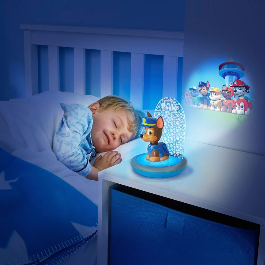 Paw Patrol Chase GoGlow Magic Night Light image-0