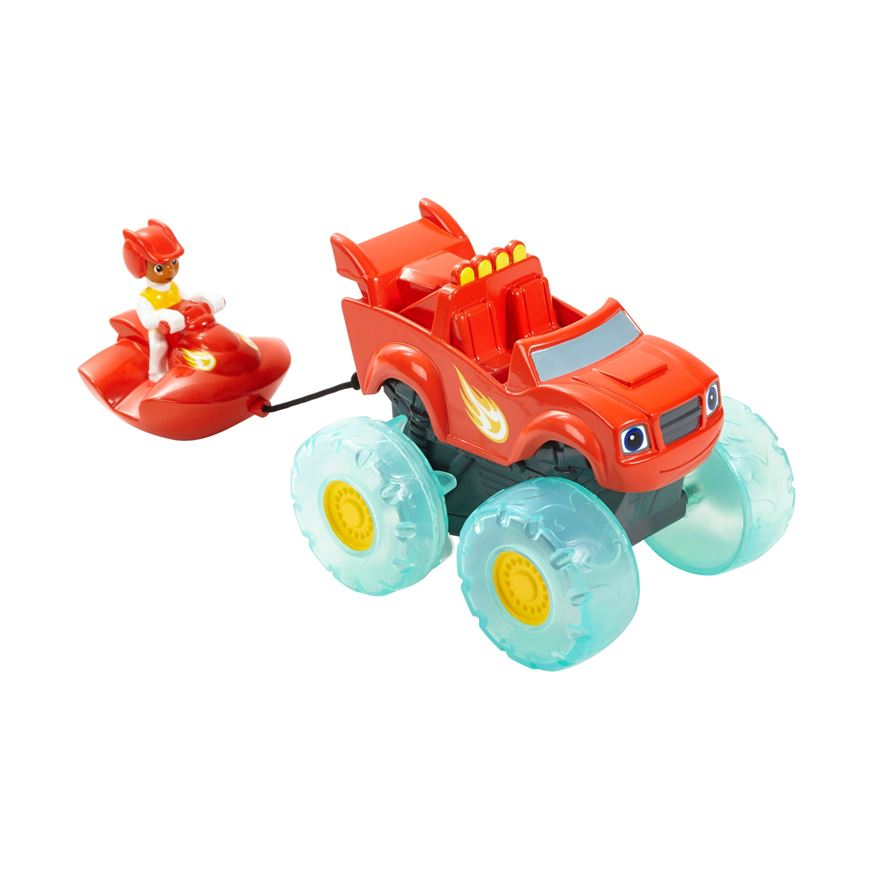 Blaze and the Monster Machines Blaze & AJ Water Rider image-0