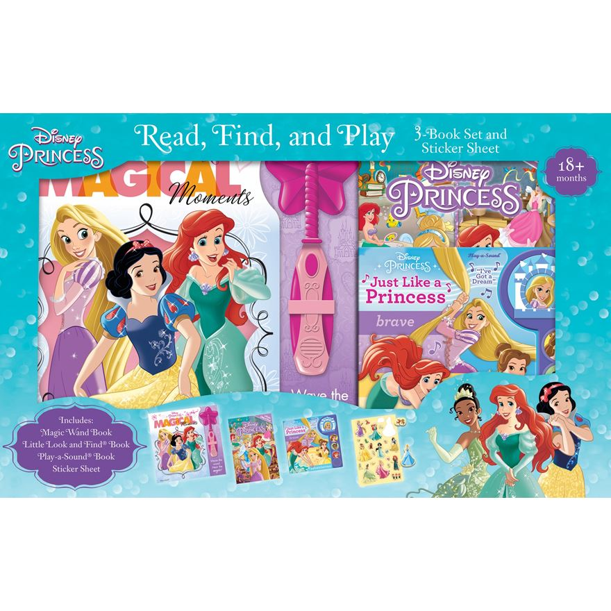 Princess Read, Find & Play Box