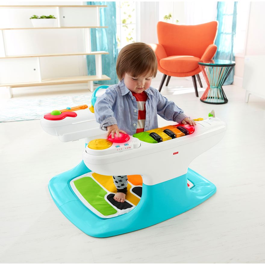 Fisher-Price 4-in-1 Step 'N Play Piano image-0