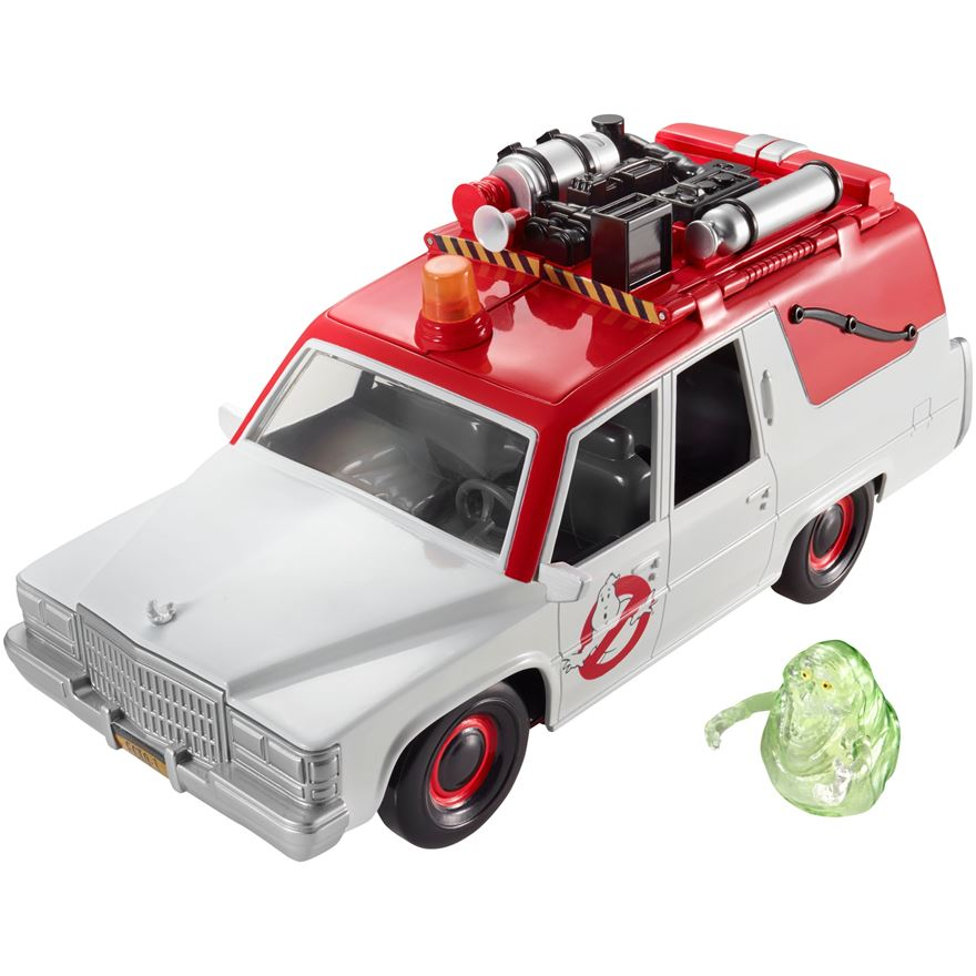 Ghostbusters ECTO-1 Vehicle and Figure image-0