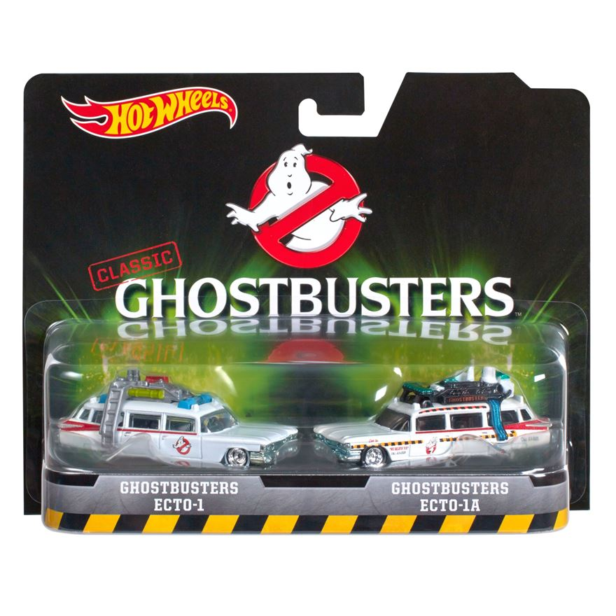 Hot Wheels Ghostbusters Ecto-1 and Ecto-1A