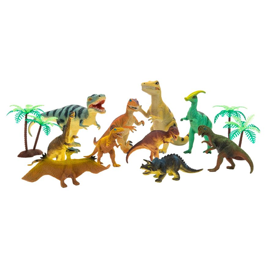 10 Piece Dinosaur Set image-0