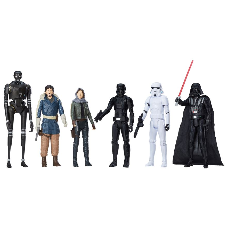Rogue One: A Star Wars Story Titan Hero 6 Pack image-0