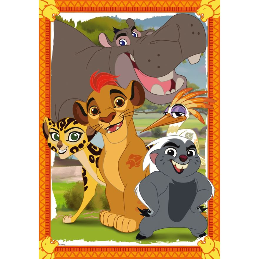 Disney Lion Guard Giant Floor Puzzle image-0