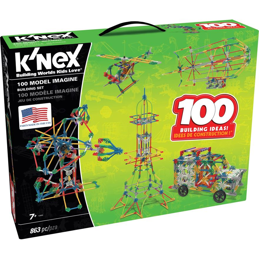 K'NEX 100 Model Building Set image-0