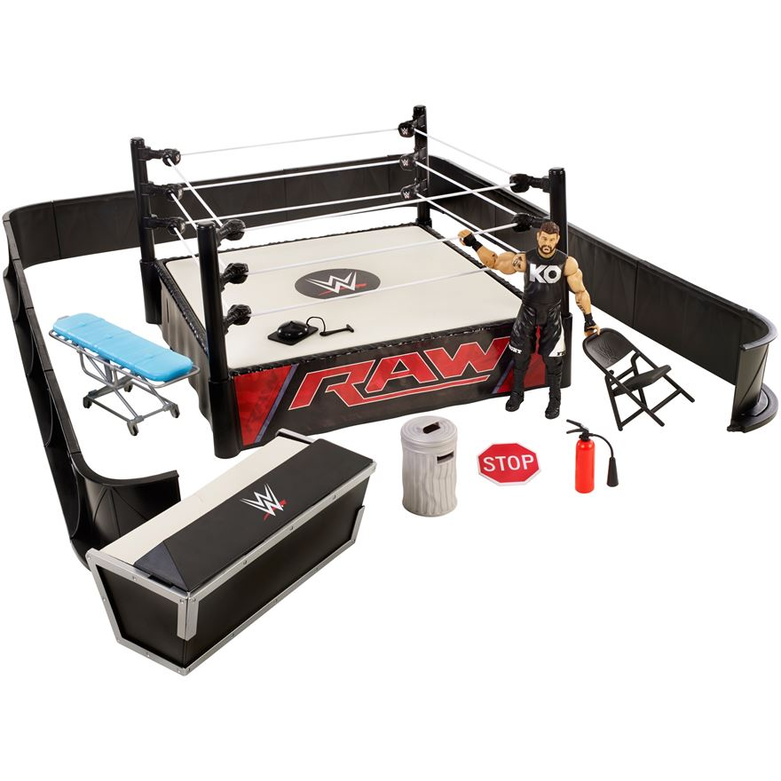 WWE Ringside Battle Playset with Kevin Owens image-0