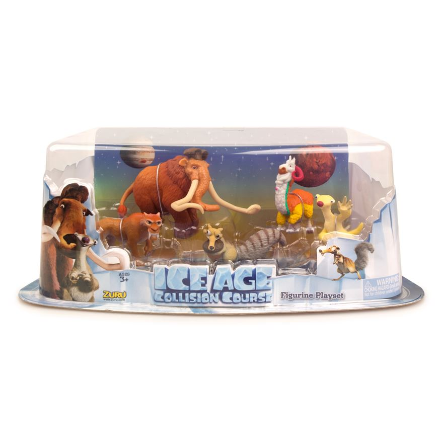 Ice Age Collision Course 5 Figure Pack image-0