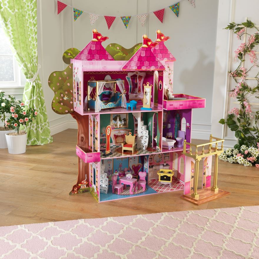 Storybook Mansion Doll house image-0