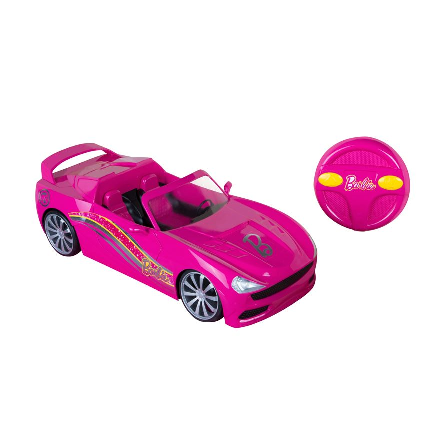 Barbie Convertible Radio Controlled Car image-0