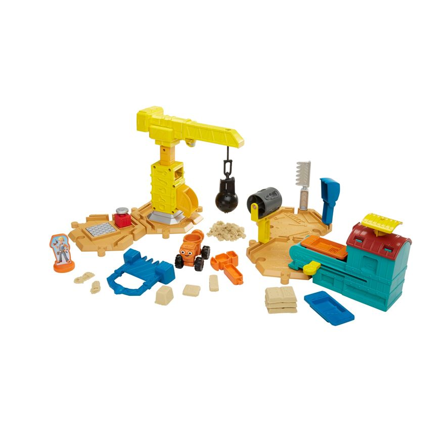 Bob the Builder Mash & Mould Construction Site image-0
