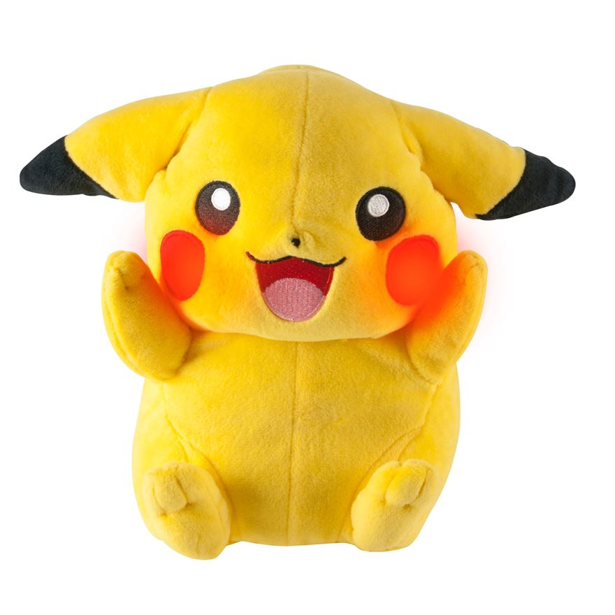Pikachu Feature Plush image-0