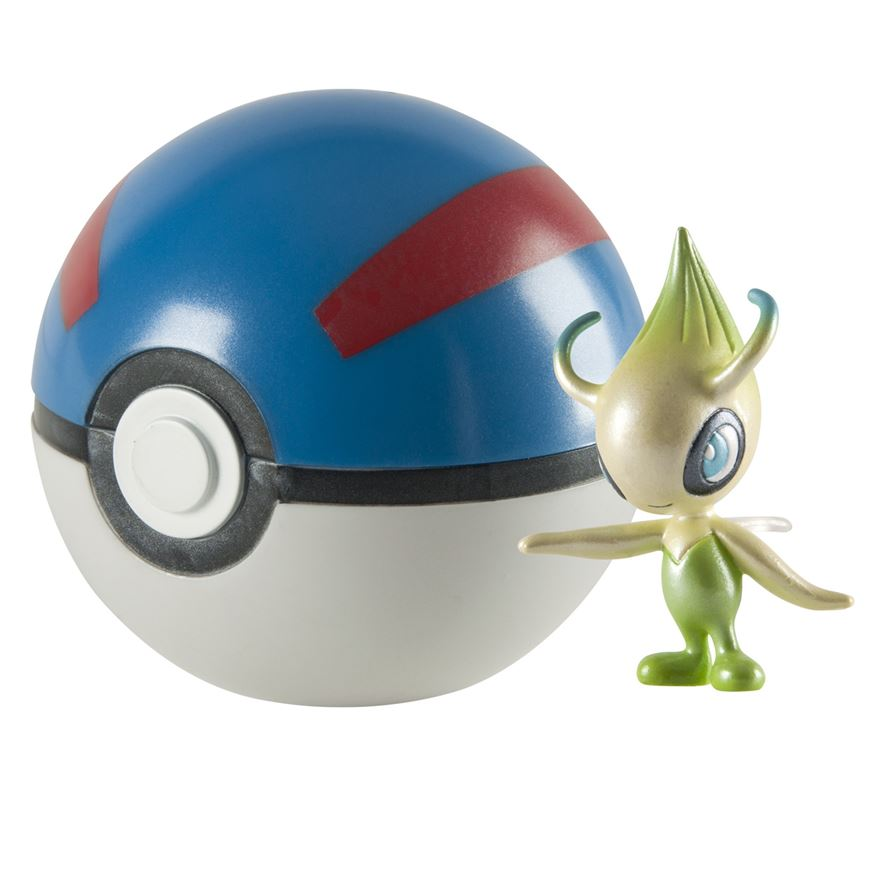 Pokémon 20th Anniversary Celebi & Great Ball