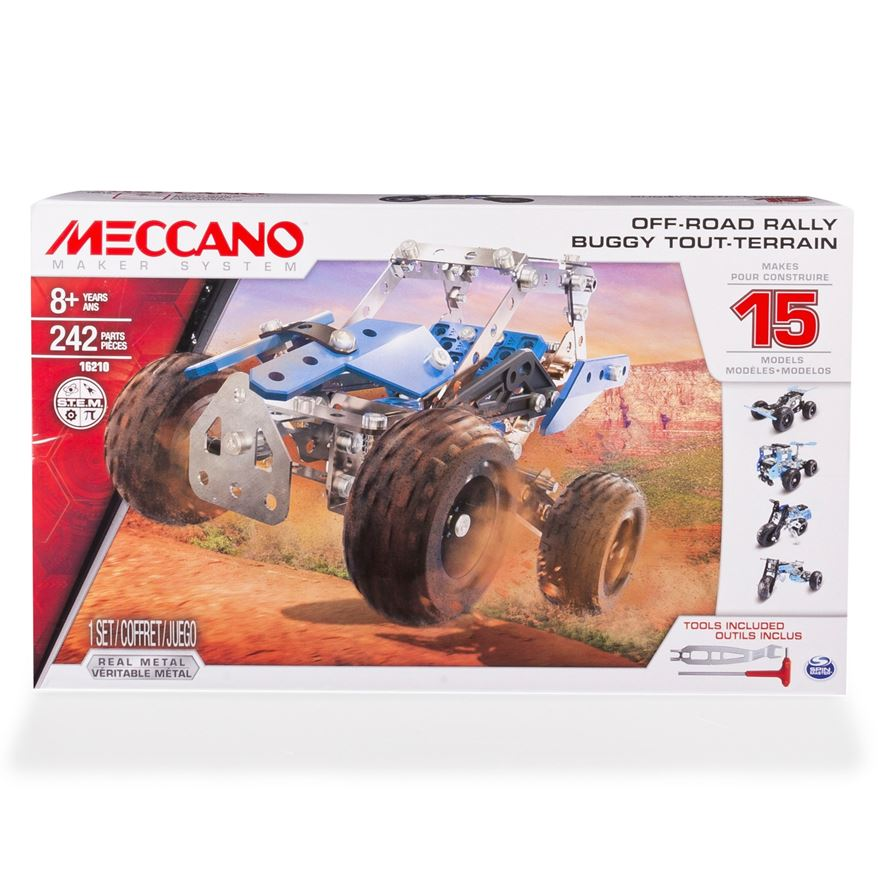 Meccano 15 Model Off-Road Rally Set image-0