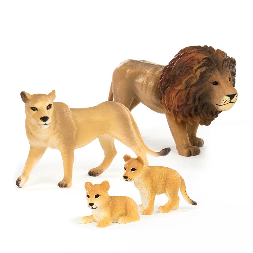 Terra 4 Piece Lion Family image-0