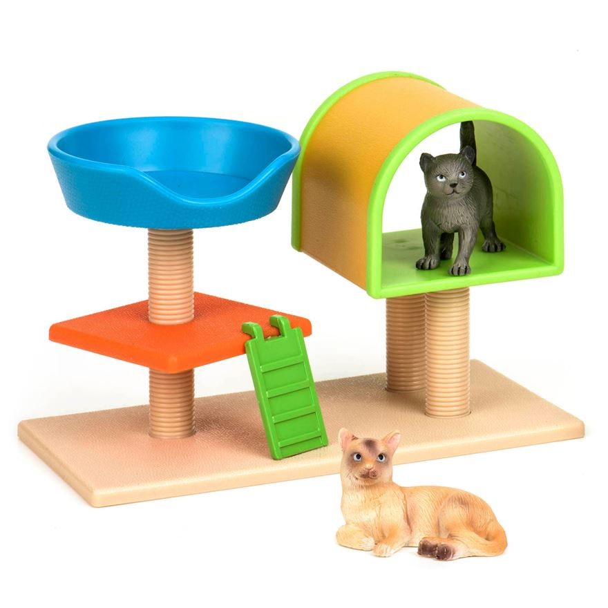 Terra Cats House & Basket image-0
