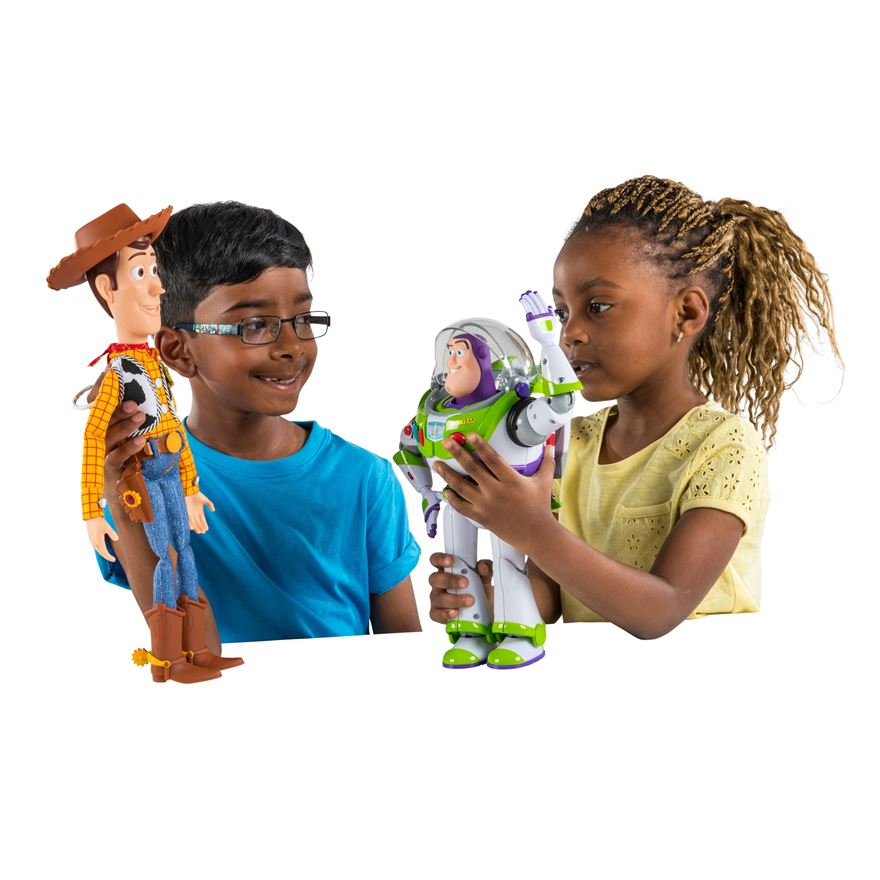 Toy Story Buzz and Woody Talking Action Figures image-0