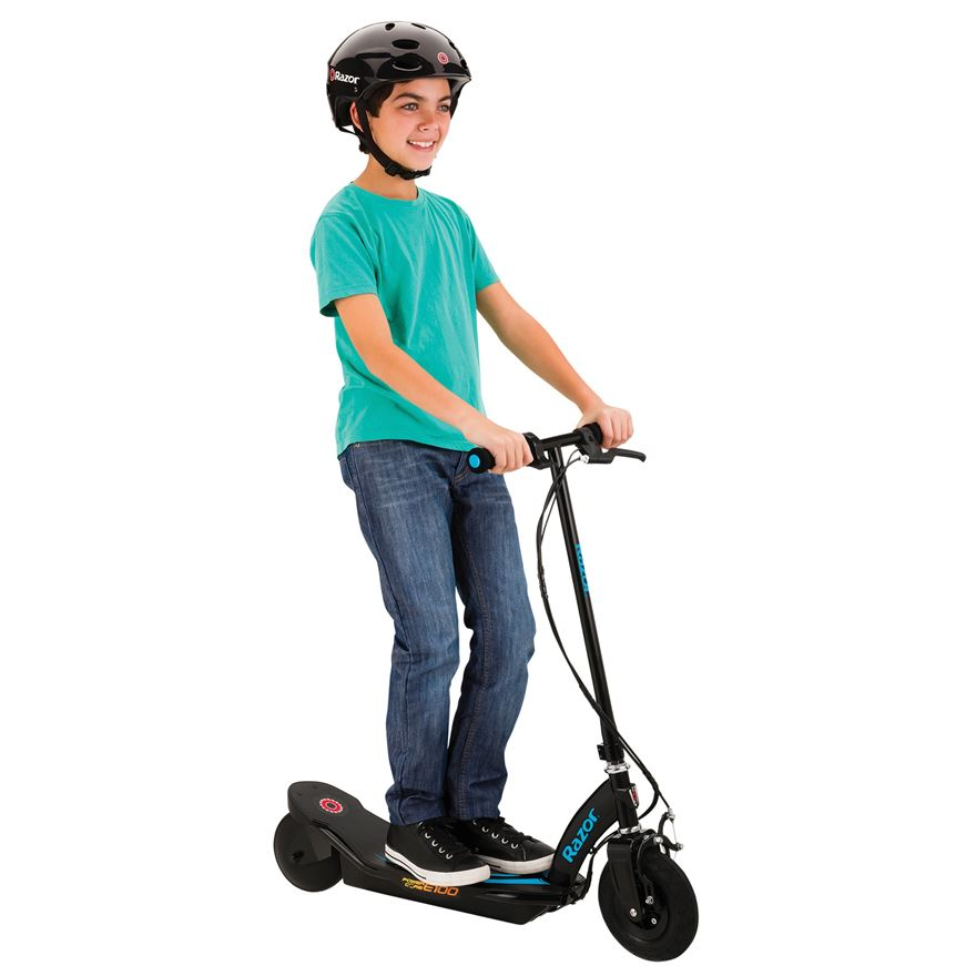 Razor Power Core E100 Electric Scooter–Blue image-0