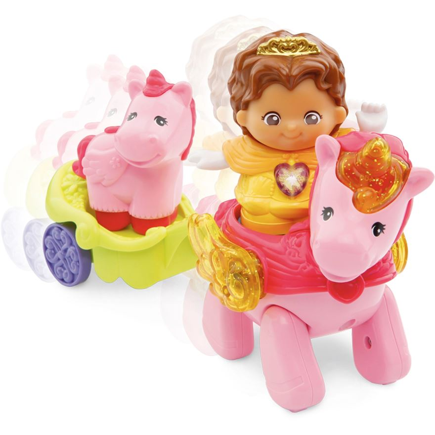 Toot-Toot Kingdom: Fairy with Unicorn image-0
