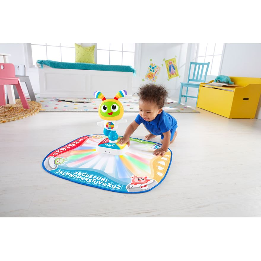 Fisher-Price Bright Beats Learnin' Lights Dance Mat image-0