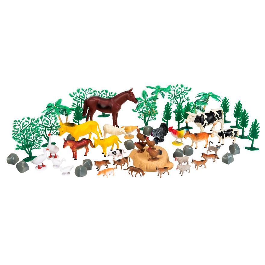 Country Animal Farm 60 Piece Set image-0