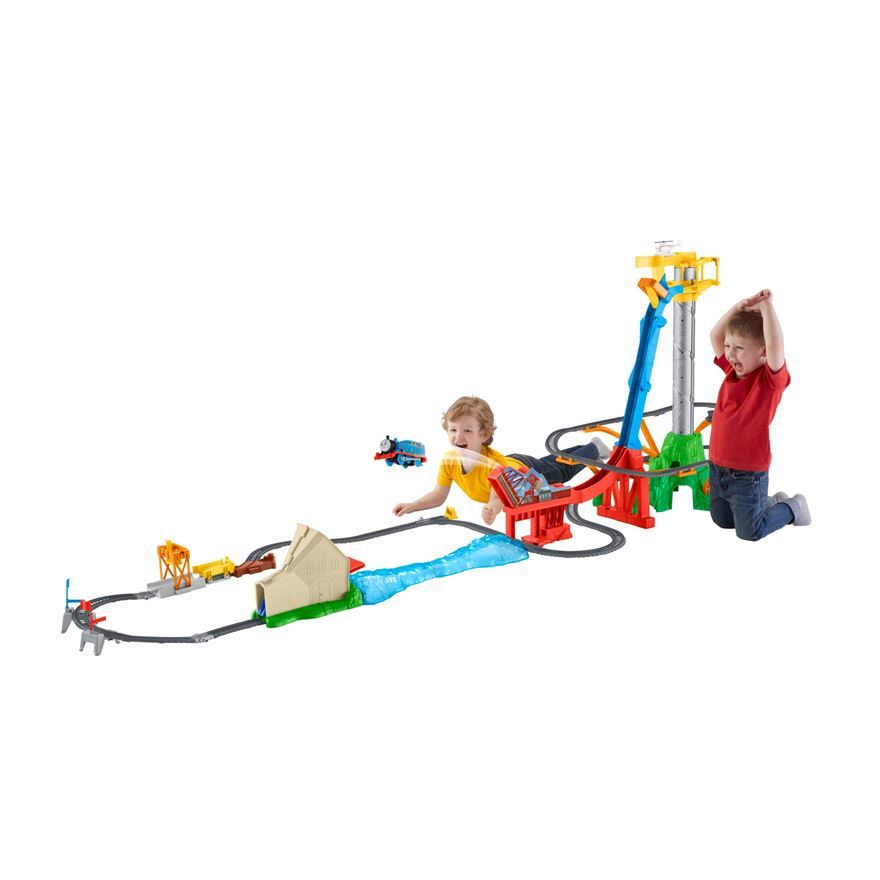 Thomas & Friends TrackMaster Sky-High Bridge Jump Set image-0