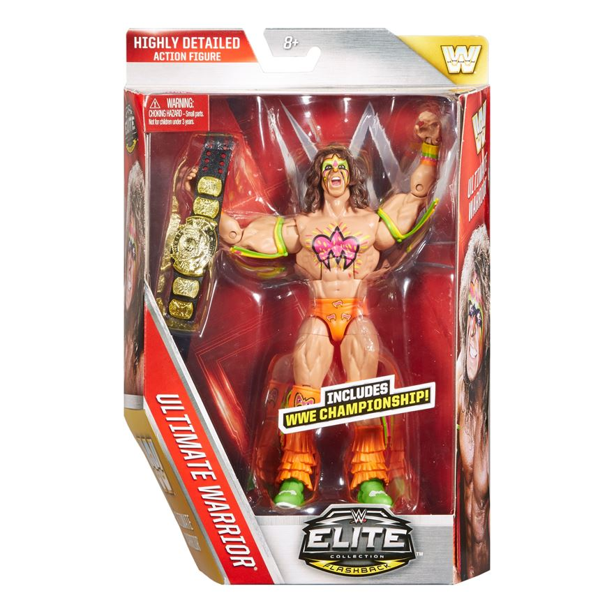 WWE Elite Collection Flashback Ultimate Warrior image-0