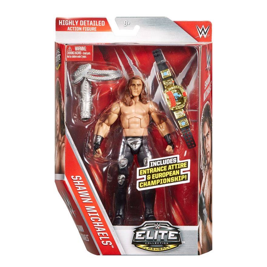 WWE Elite Collection Flashback Shawn Michaels image-0