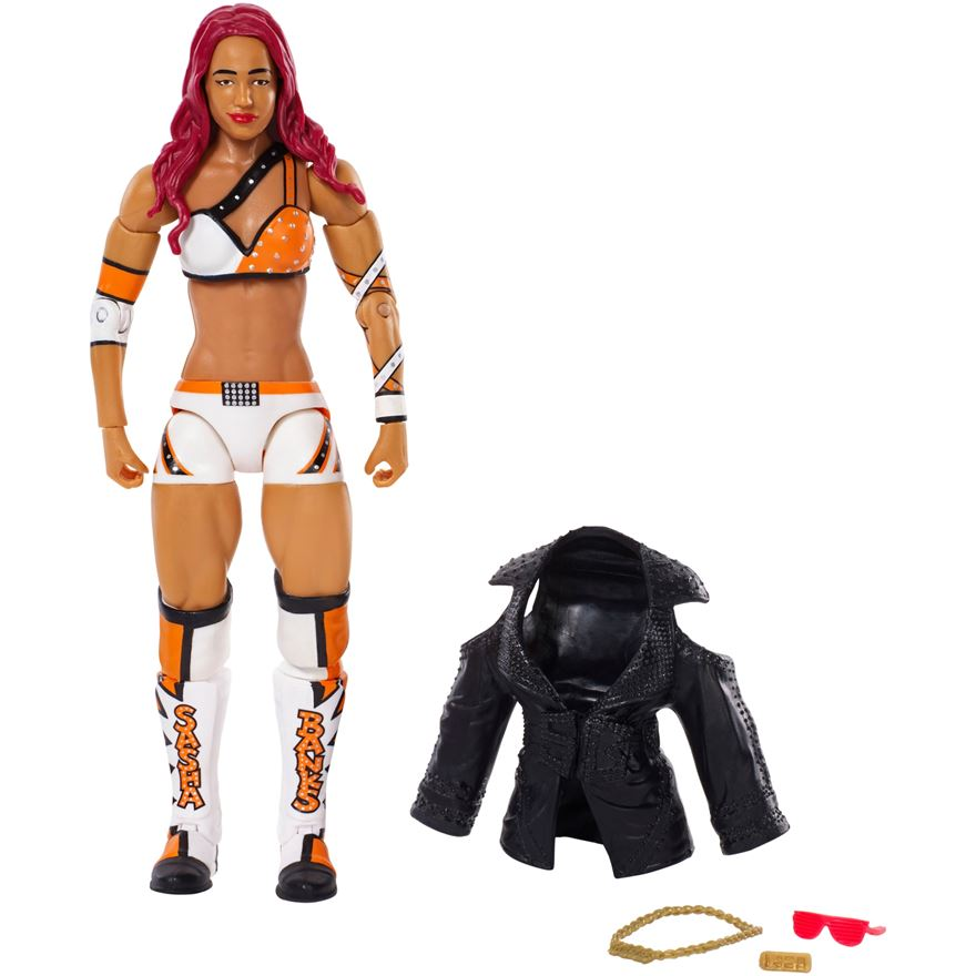 WWE Elite Figures Series 44 Sasha Banks image-0