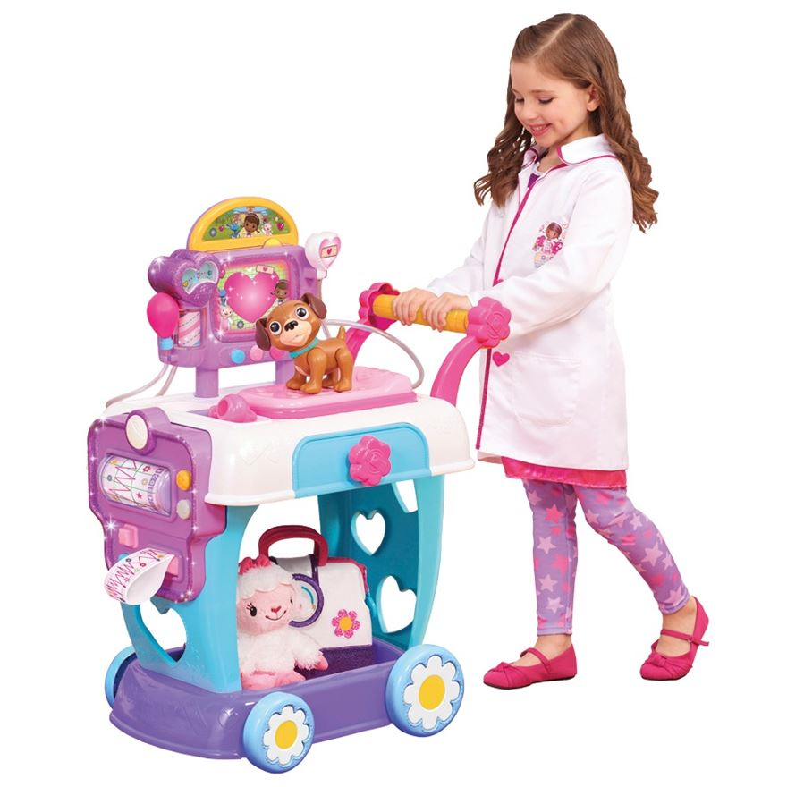Doc McStuffins Toy Hospital Care Cart image-0
