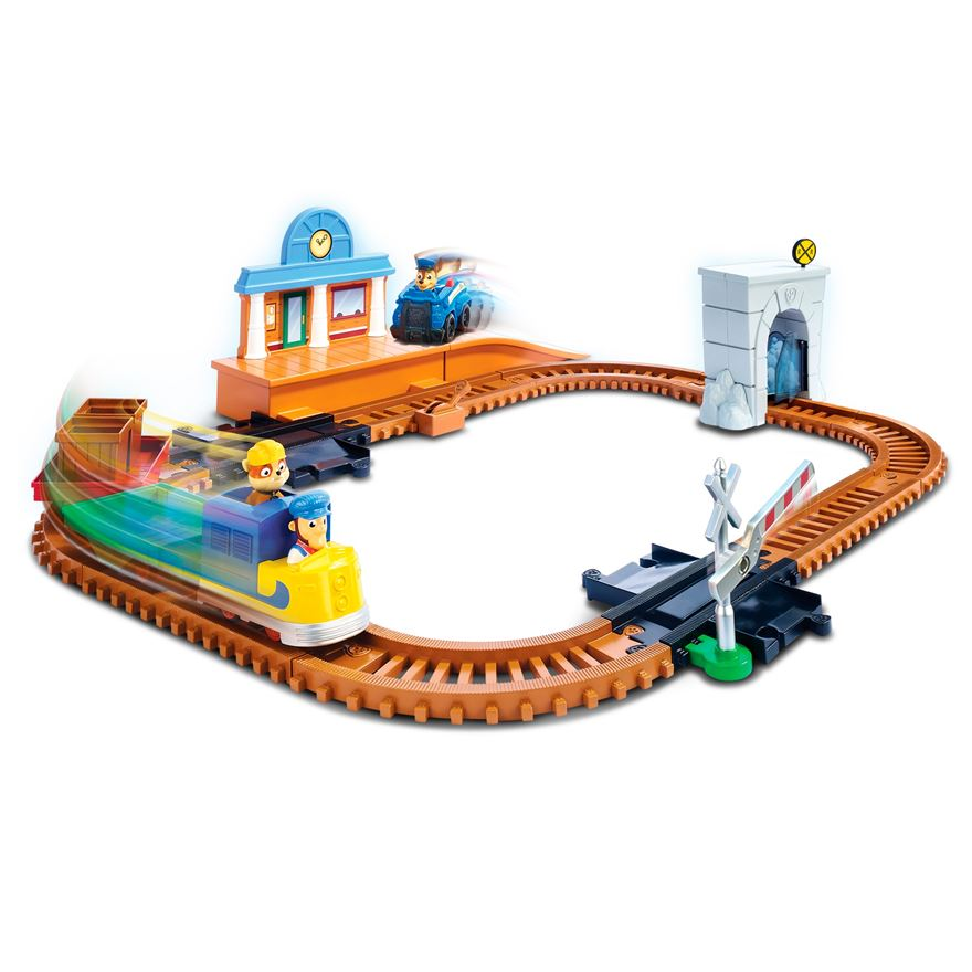 Paw Patrol Adventure Bay Railway Track Set image-0