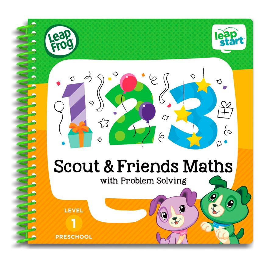 LeapFrog LeapStart Preschool Activity Book: Scout & Friends Maths and Problem Solving image-0