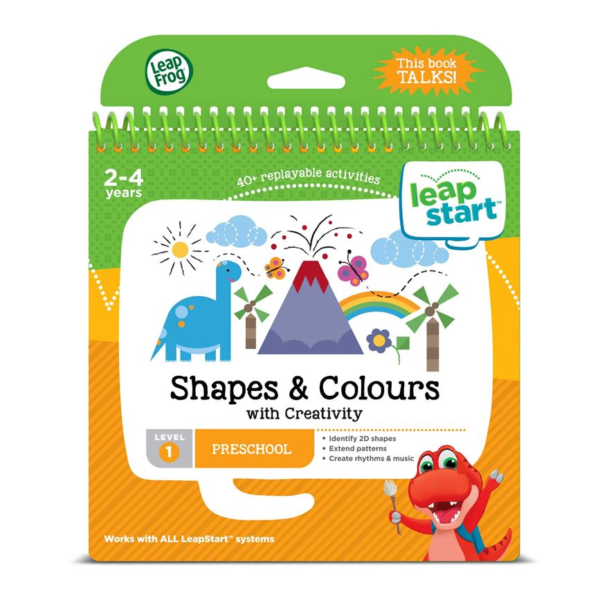 LeapFrog LeapStart Preschool Activity Book: Shapes, Colours & Creative Expression image-0