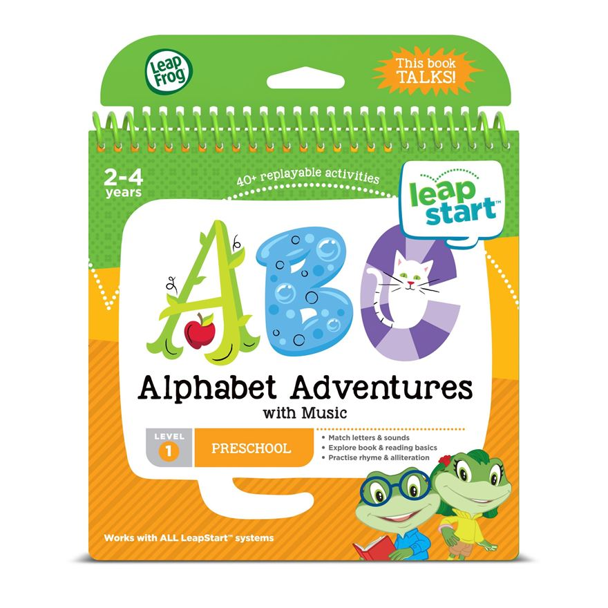 LeapFrog LeapStart Preschool Activity Book: Alphabet Adventures image-0