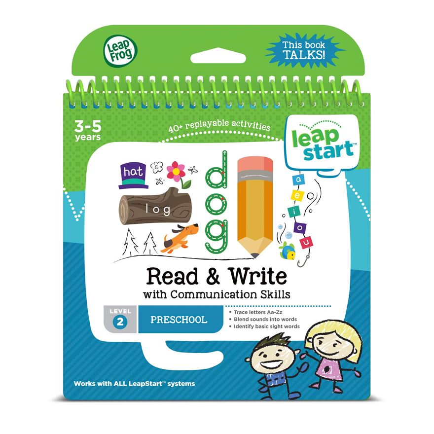 LeapFrog LeapStart Preschool Activity Book: Read & Write and Communication Skills image-0