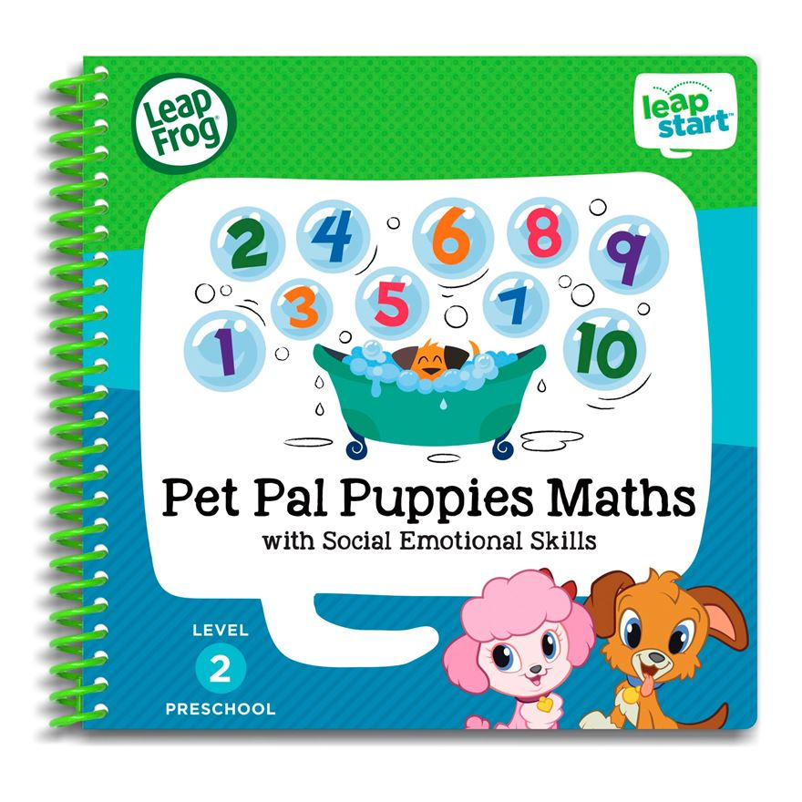 LeapStart Preschool Activity Book: Pet Pal Puppies Maths and Social Emotional Skills image-0