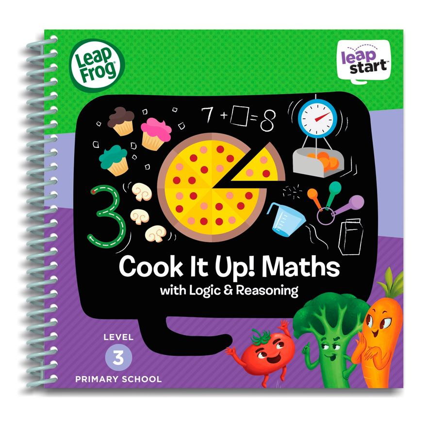 LeapFrog LeapStart Primary School Activity Book: Cook It Up! Maths with Logic & Reasoning image-0