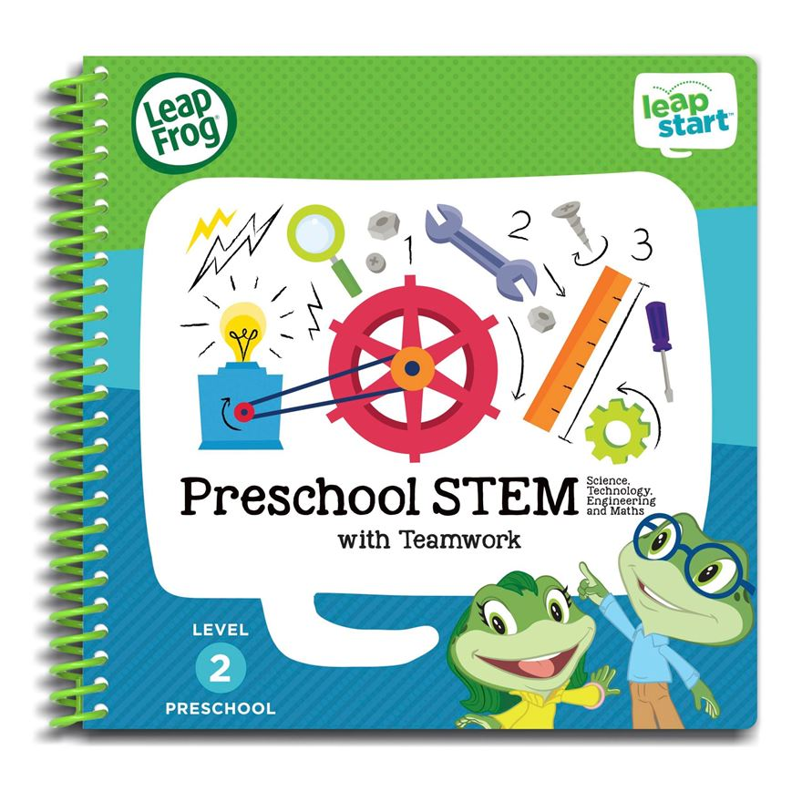 LeapFrop LeapStart Preschool Activity Book: STEM and Teamwork image-0