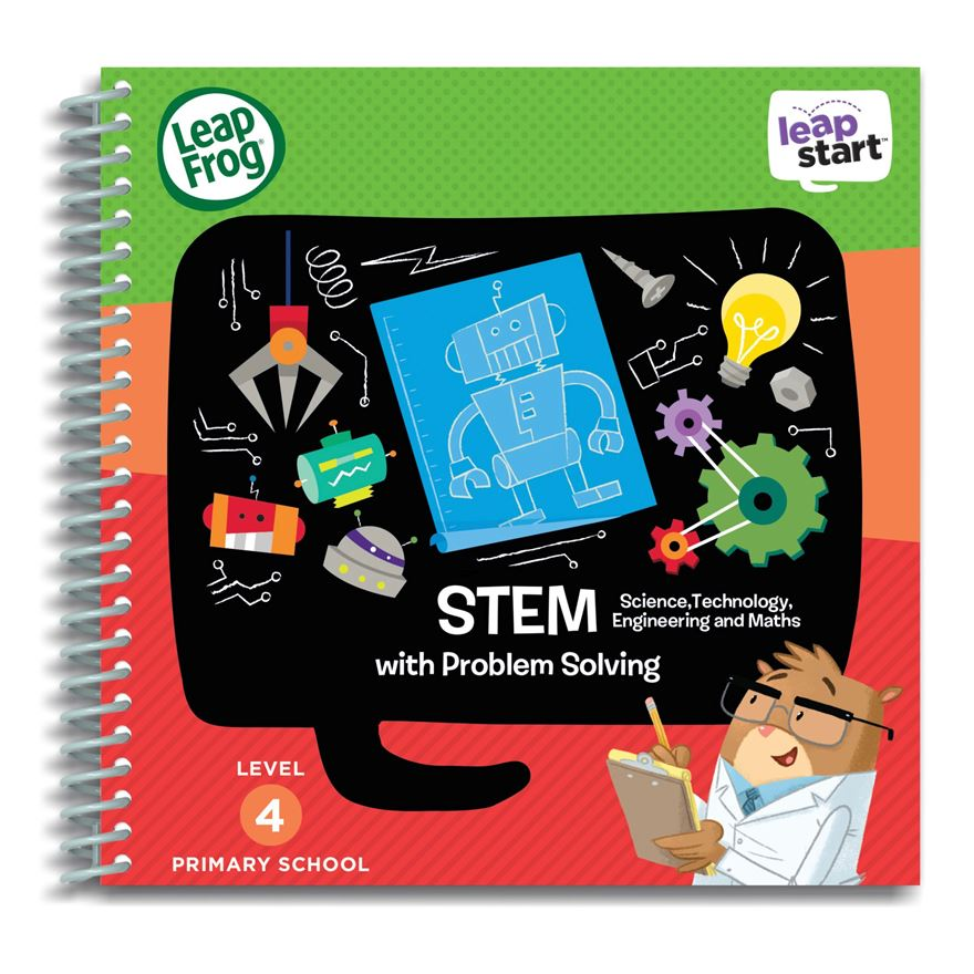 LeapFrog LeapStart Primary School Activity Book: STEM and Problem Solving image-0