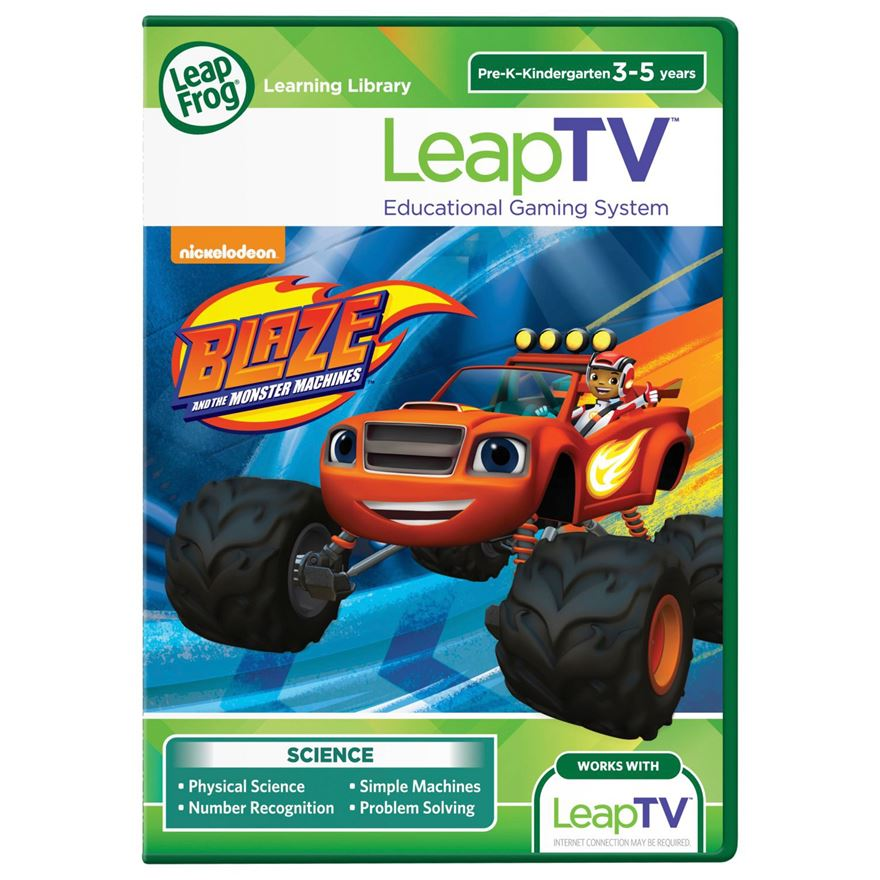 LeapTV: Blaze and the Monster Machines Educational, Active Video Game image-0