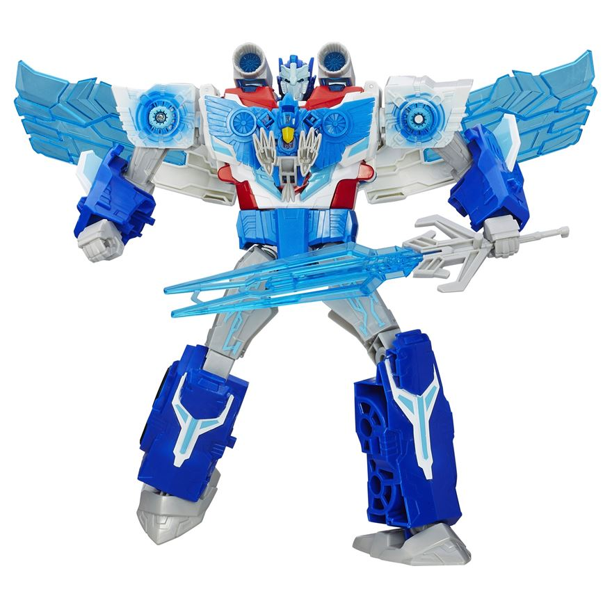 Transformers Robots in Disguise Power Surge Optimus Prime and Aerobolt image-0