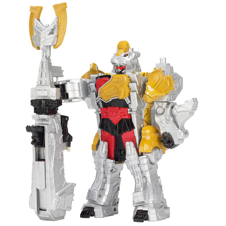 Power Rangers Dino Super Charge Titano Megazord image-0