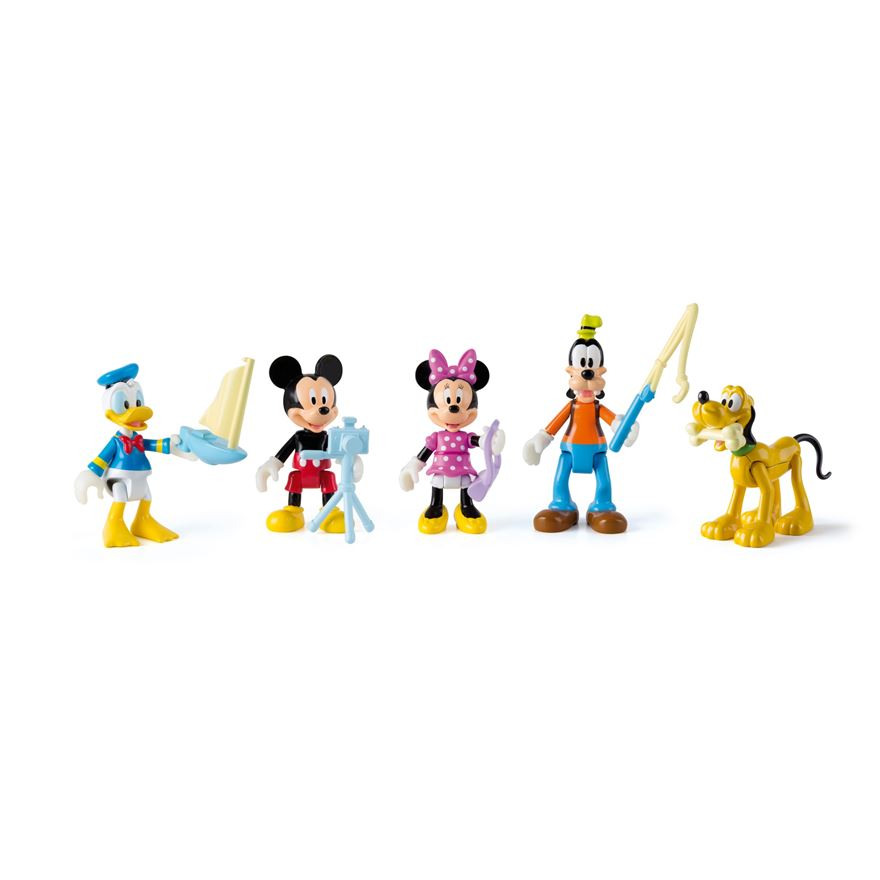 Mickey Mouse 5 Figure Pack image-0