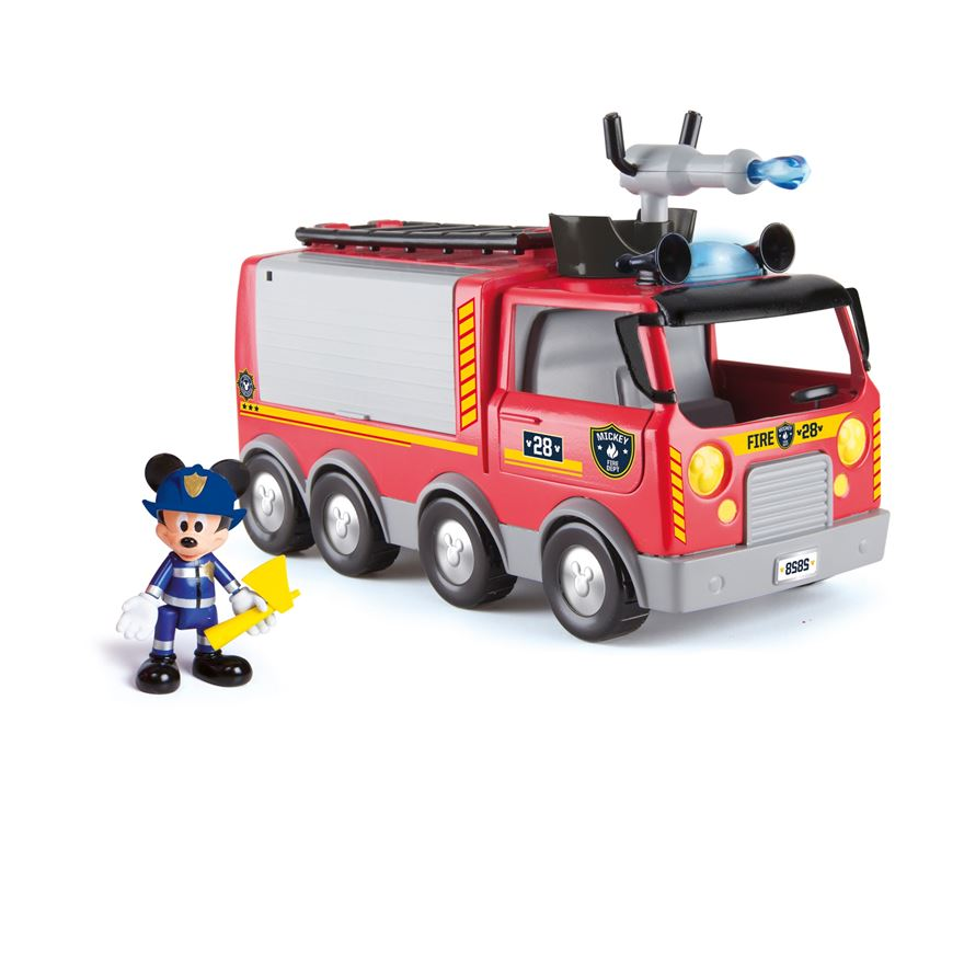 Mickey Mouse Emergency Fire Truck image-0